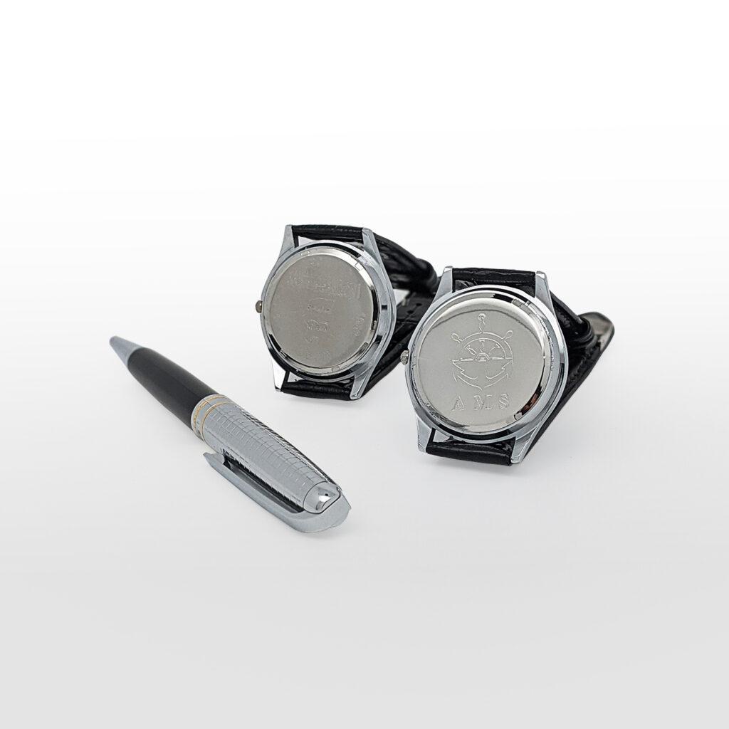 top service hydra gravure mécanique sur montre agérie